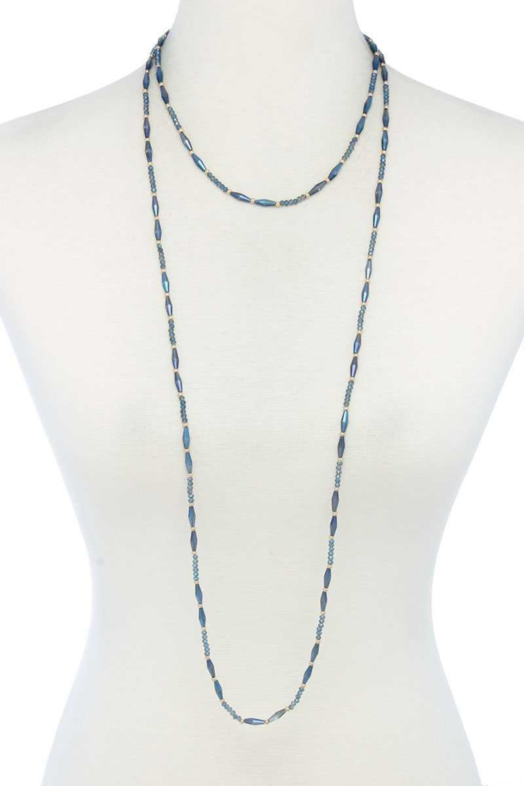 Nadya's Closet Beaded Necklace - Main Image