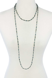 Nadya's Closet Beaded Necklace - Front cropped