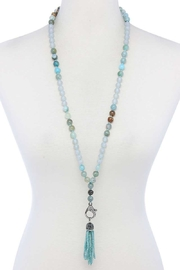 Nadya's Closet Beaded Tassel Beaded Necklace - Product Mini Image