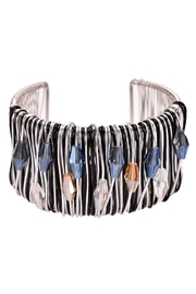 Nadya's Closet Beaded Wire Cuff - Front cropped