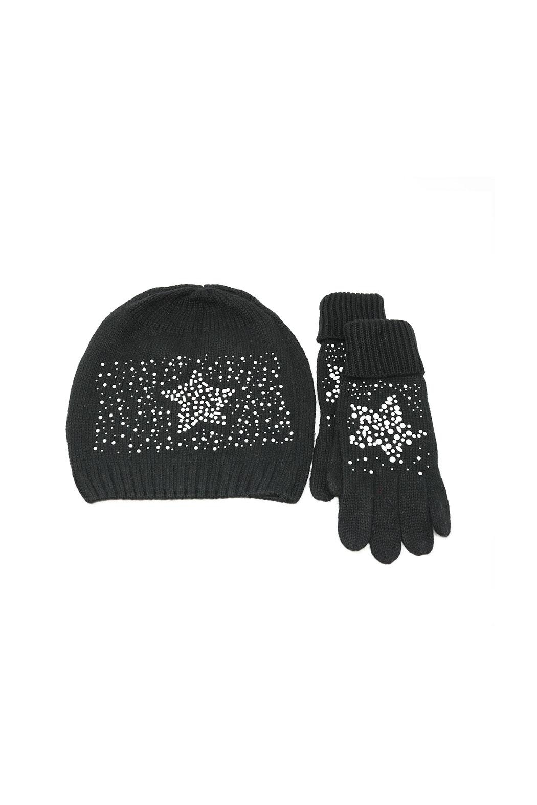 Nadya's Closet Beanie & Gloves Set - Main Image