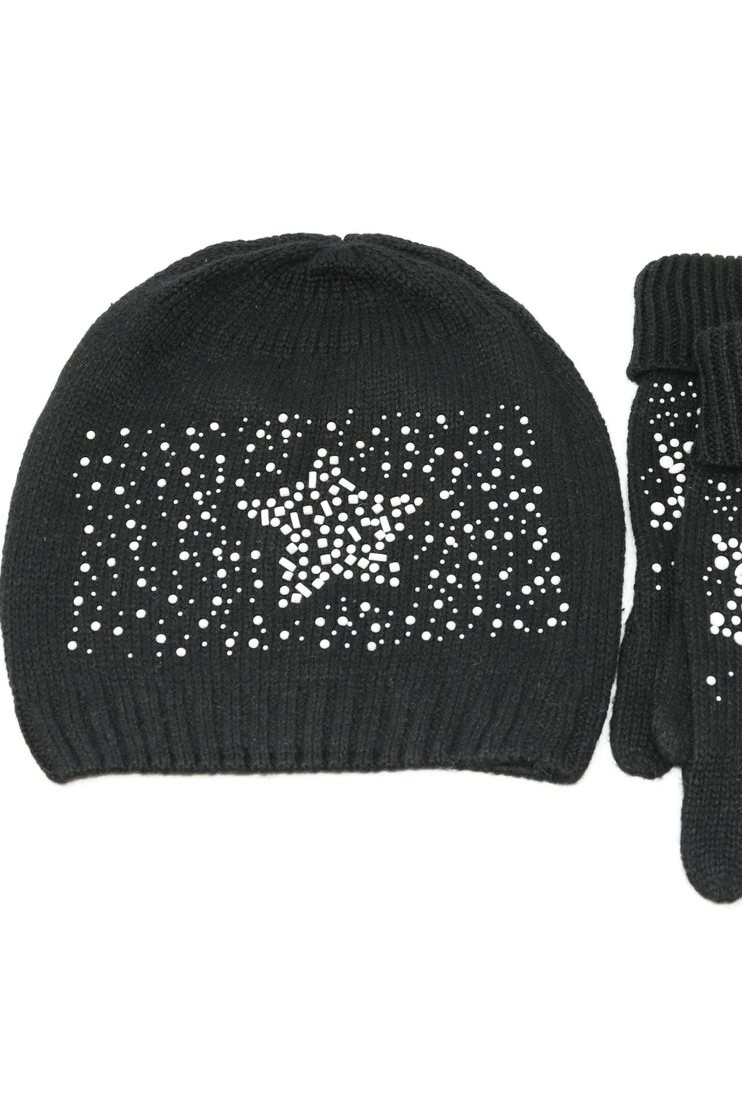 Nadya's Closet Beanie & Gloves Set - Side Cropped Image