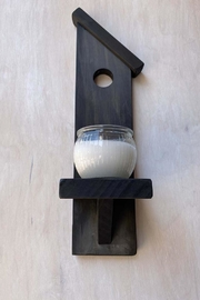Nadya's Closet Birdhouse Accent Candle Holder - Front cropped
