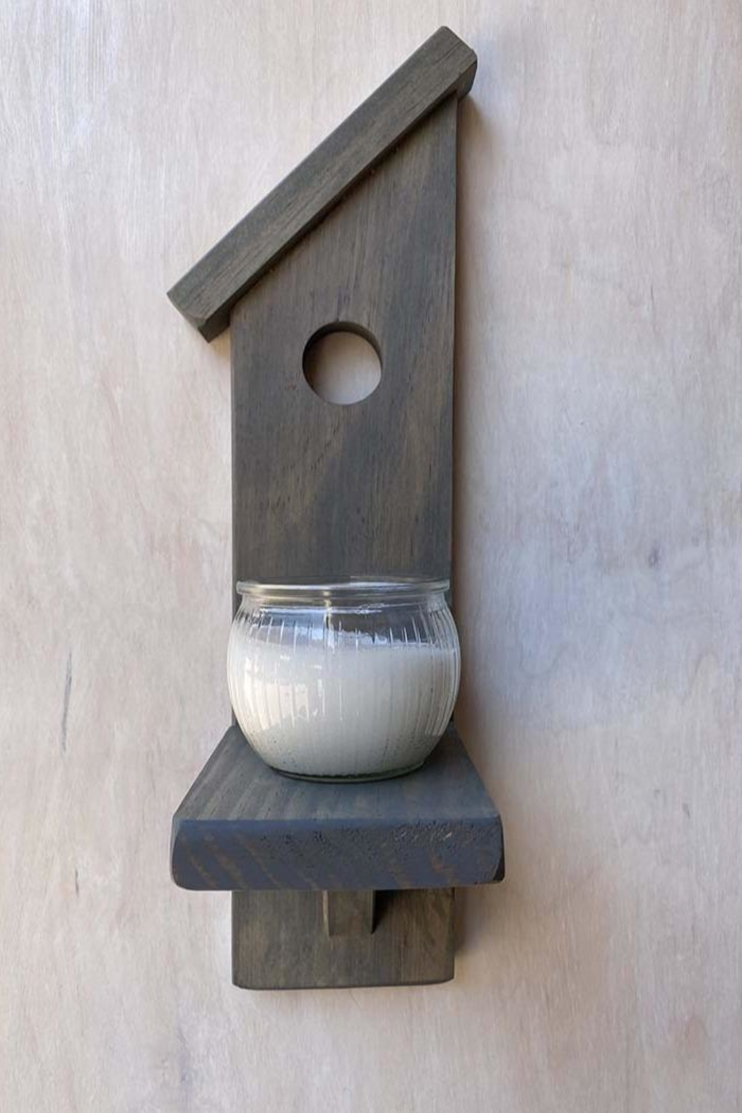 Nadya's Closet Birdhouse Accent Candle Holder - Front Cropped Image