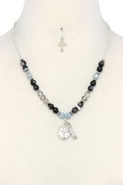 Nadya's Closet Blessed Charm Necklace - Product Mini Image