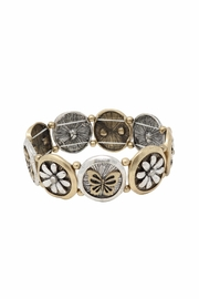 Nadya's Closet Butterfly Accent Bracelet - Product Mini Image