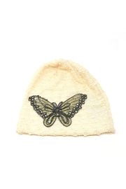 Nadya's Closet Butterfly Glitter Beanie - Front cropped