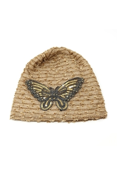 Shoptiques Product: Butterfly Glitter Beanie