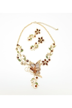 Shoptiques Product: Butterfly Necklace Set