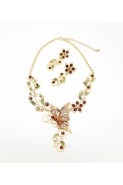 Nadya's Closet Butterfly Necklace Set - Product Mini Image