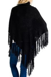 Nadya's Closet Buttons & Fringes Poncho - Other