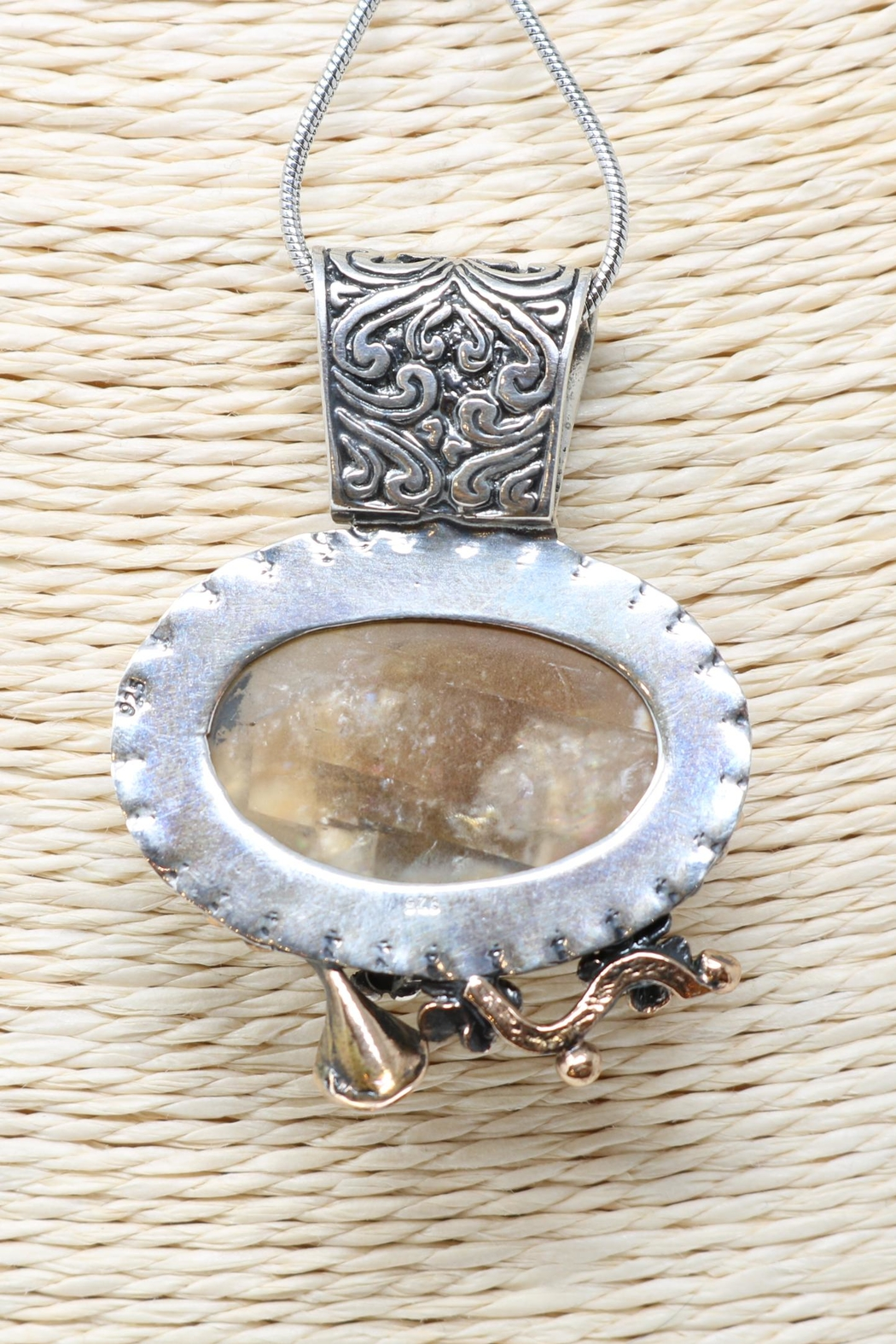 Nadya's Closet Cappadocia Handmade Necklace - Side Cropped Image