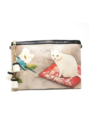Nadya's Closet Cat & Flower Convertible-Clutch - Product Mini Image