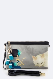 Nadya's Closet Cat & Lady Convertible-Clutch - Back cropped