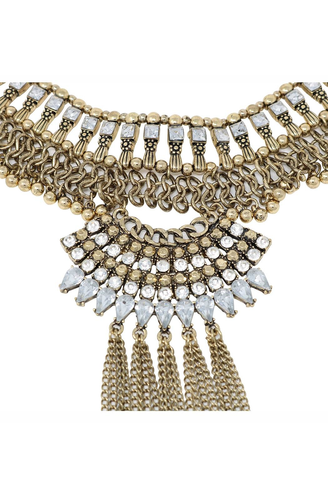 Nadya's Closet Catalonia Statement Necklace - Front Full Image
