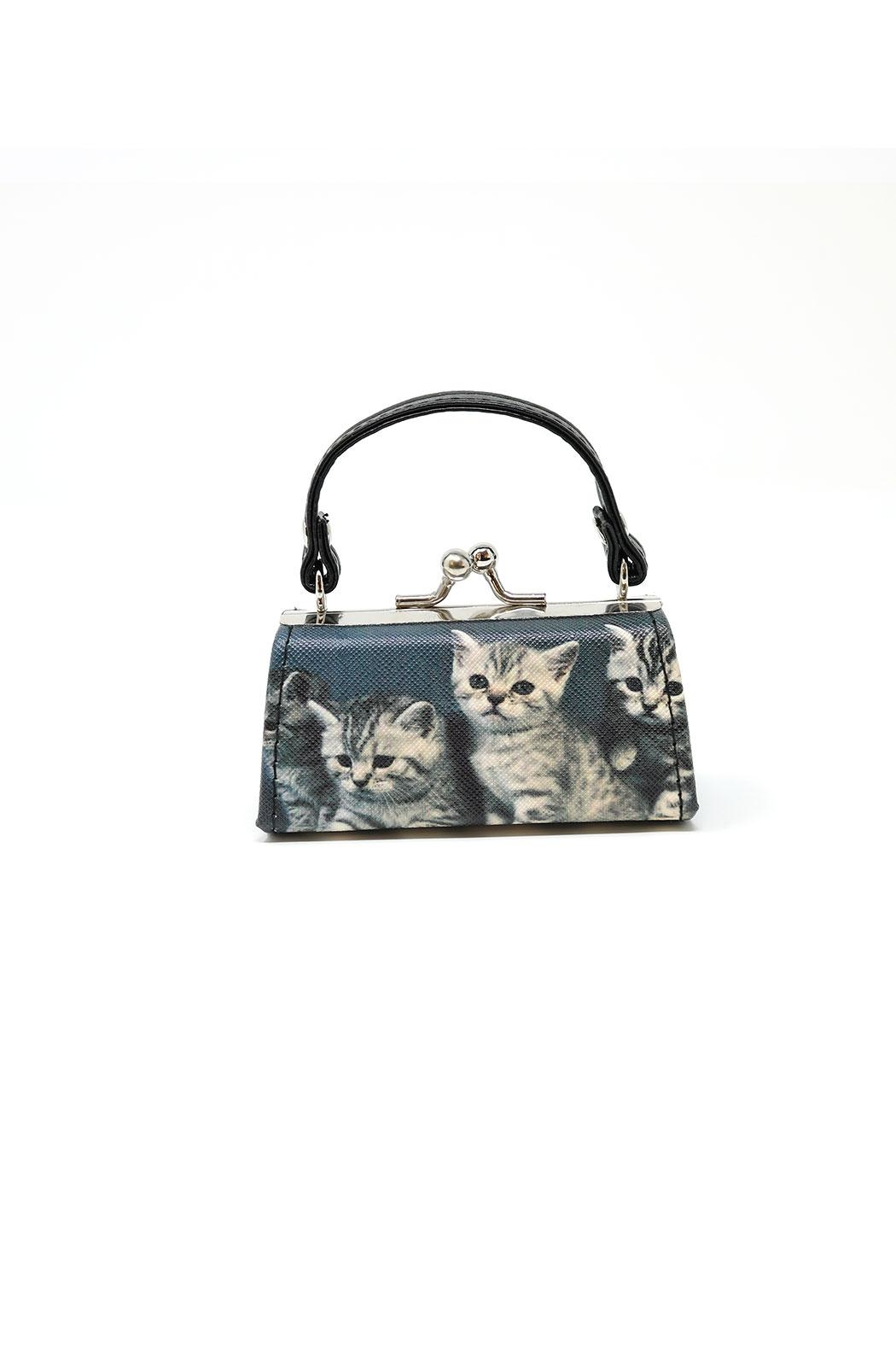 Nadya's Closet Cats Coin Purse - Front Full Image