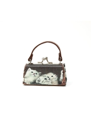 Nadya's Closet Cats Coin Purse - Front cropped