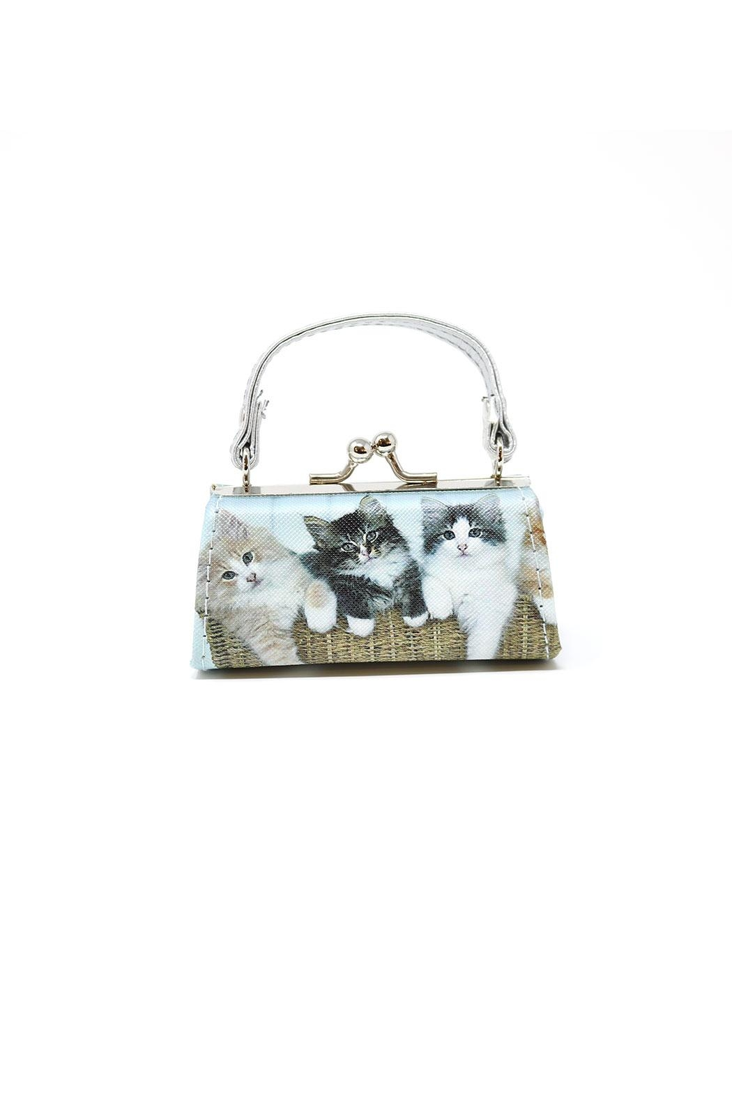 Nadya's Closet Cats Coin Purse - Front Cropped Image
