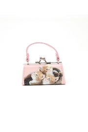 Nadya's Closet Cats Coin Purse - Front full body