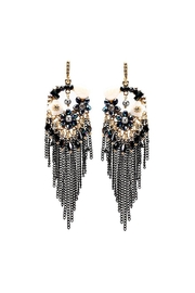 Nadya's Closet Chain & Bead Chandelier Earrings - Product Mini Image