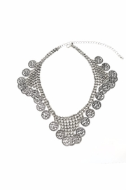 Nadya's Closet Coin Accent Choker - Front cropped