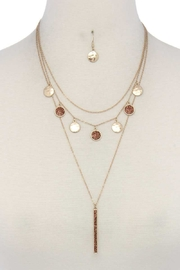Nadya's Closet Coin Layered Necklace Set - Product Mini Image