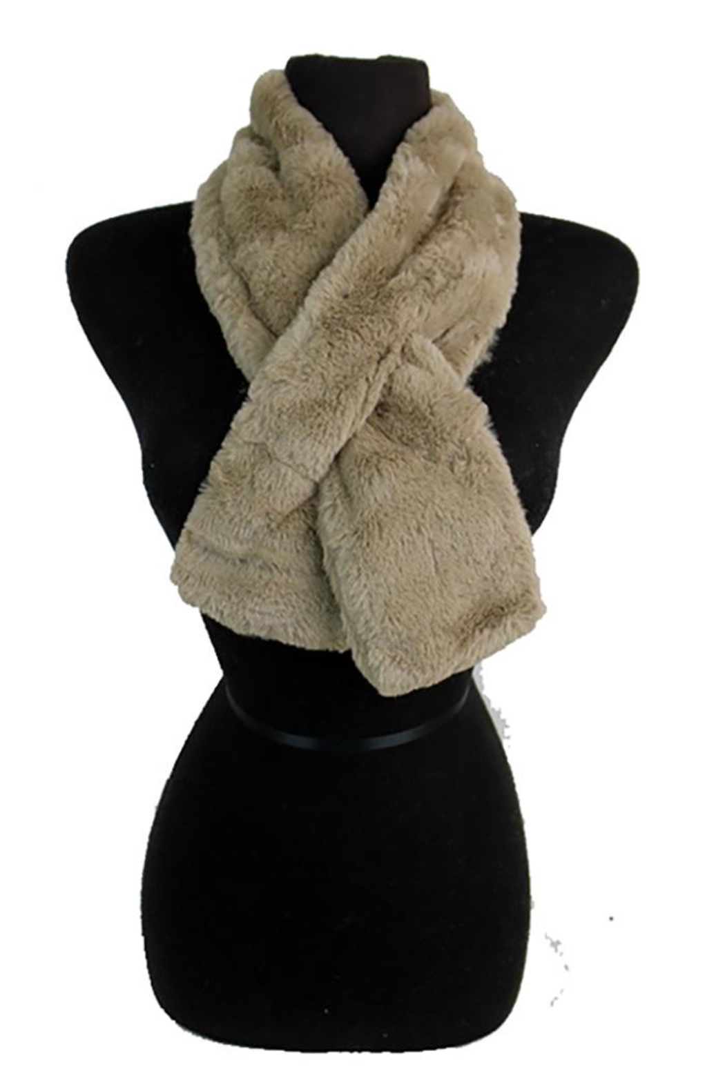 Nadya's Closet Cowl Neck Scarf - Front Cropped Image
