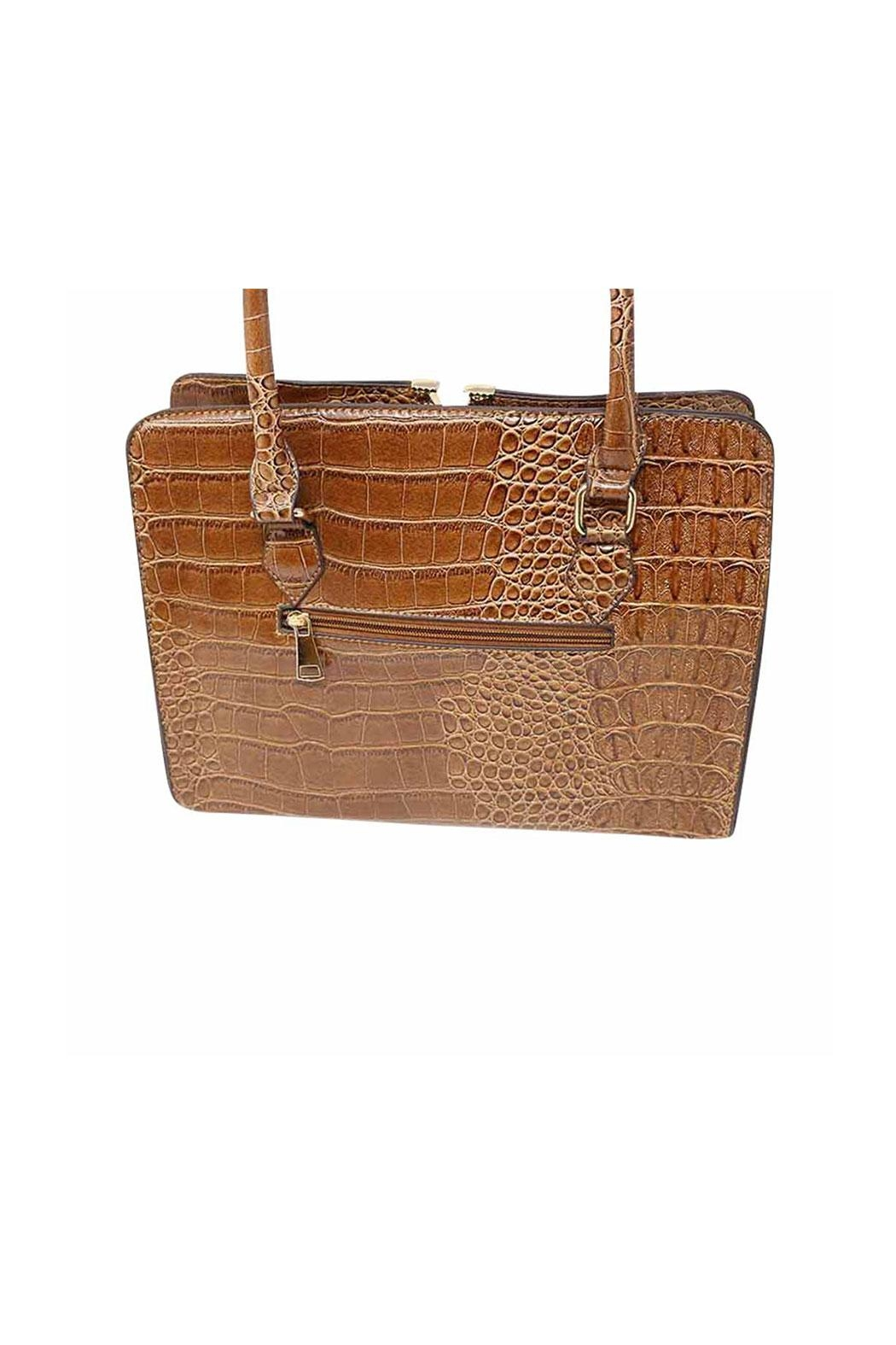Nadya's Closet Croc Accent Bag - Side Cropped Image