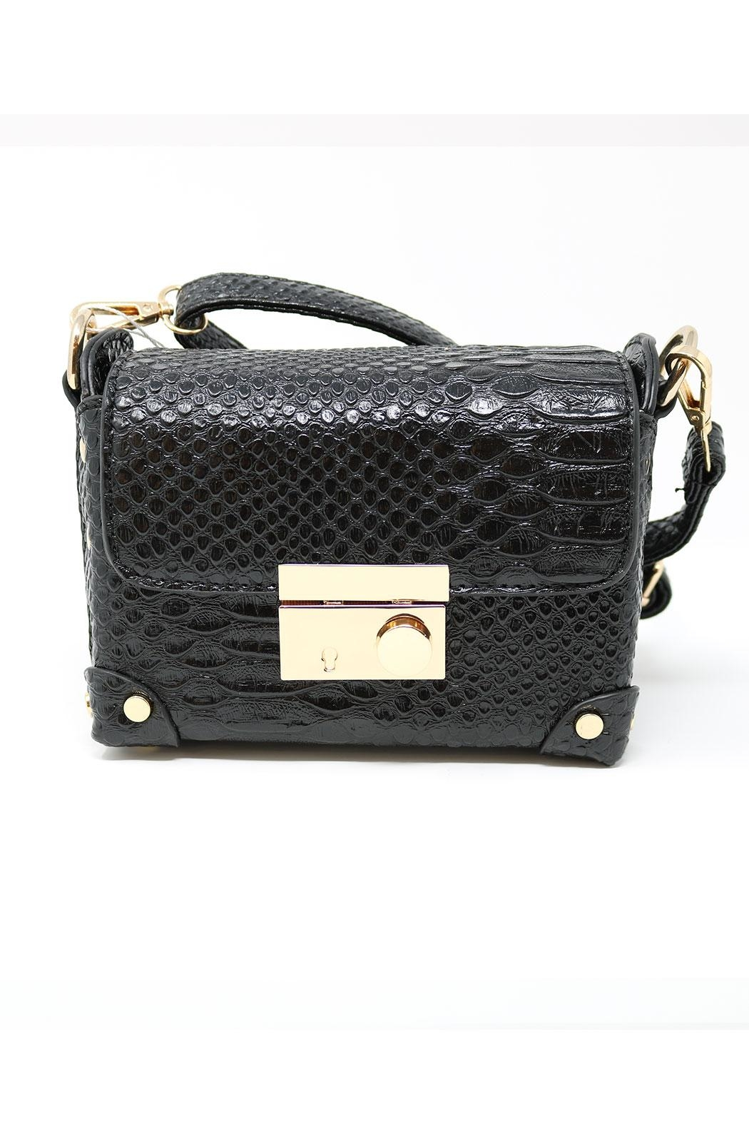 Nadya's Closet Croc Accent Mini-Bag - Front Cropped Image