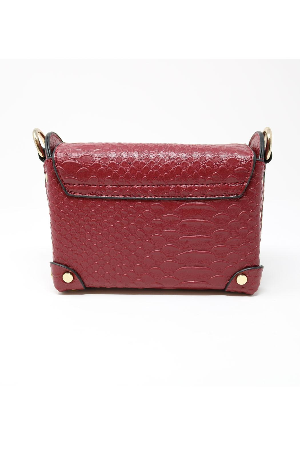 Nadya's Closet Croc Accent Mini-Bag - Side Cropped Image