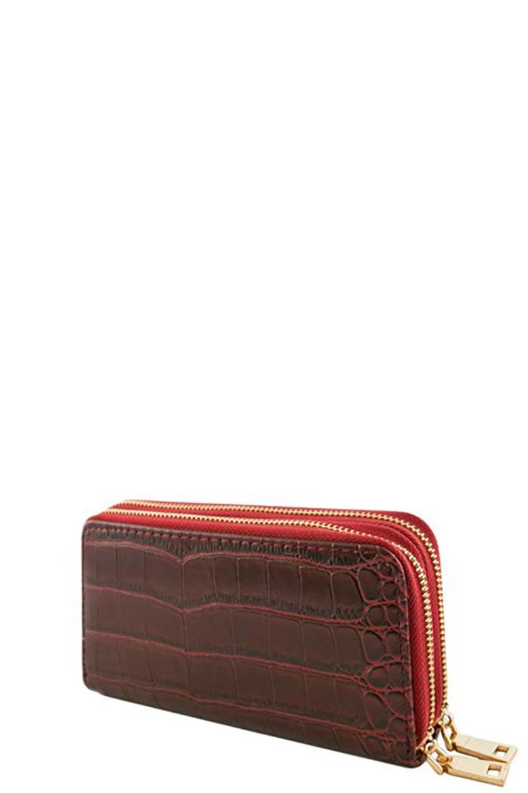 Nadya's Closet Croc Accent Wallet - Main Image