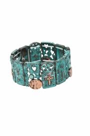 Nadya's Closet Cross Accent Bracelet - Front cropped