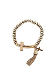 Nadya's Closet Cross Stretch Bracelet - Product Mini Image