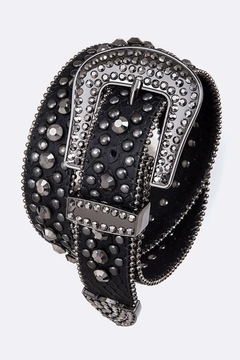 Nadya's Closet Crystal Buckle Belt - Product List Image