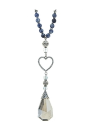 Nadya's Closet Crystal Charm Beaded-Necklace - Product Mini Image