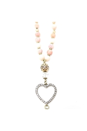 Nadya's Closet Crystal Charm Beaded-Necklace - Back cropped