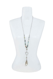 Nadya's Closet Crystal Charm Beaded-Necklace - Side cropped