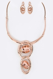 Nadya's Closet Crystal Collar Necklace Set - Product Mini Image