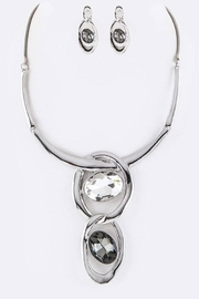 Nadya's Closet Crystal Collar Necklace-Set - Other