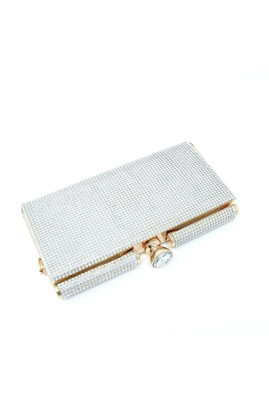 Nadya's Closet Crystal Evening Bag - Front Cropped Image