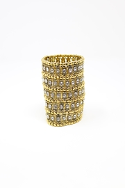 Nadya's Closet Crystal Statement Bracelet - Product Mini Image