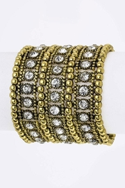 Nadya's Closet Crystal Stretch Bracelet - Product Mini Image