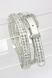 Nadya's Closet Crystal Studded Belt - Product Mini Image