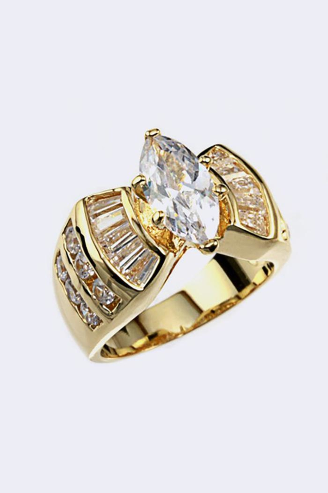 Nadya's Closet Cubic Zirconia Ring - Front Cropped Image