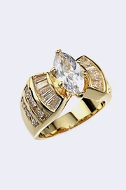 Nadya's Closet Cubic Zirconia Ring - Front cropped