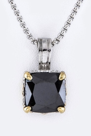 Nadya's Closet Cushion Cut Cz-Necklace - Product Mini Image