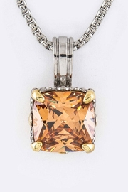 Nadya's Closet Cushion Cut Cz-Necklace - Front cropped
