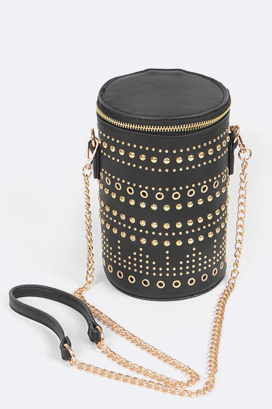Nadya's Closet Cylinder Crossbody Bag - Front Cropped Image