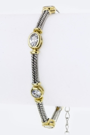 Nadya's Closet Cz Chain Bracelet - Product Mini Image