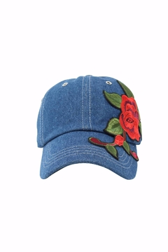 Shoptiques Product: Denim Baseball Cap